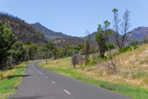 Road to Warrumbungle National Park, Australia; New South Wales;